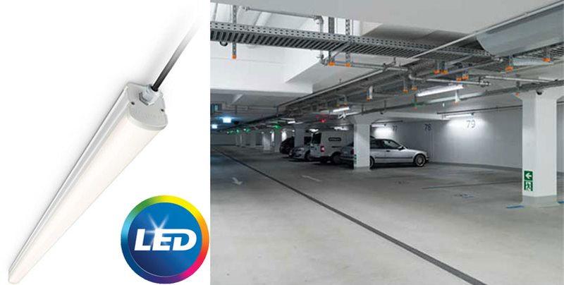 Качествени водоустойчиви осветители LEDINAIRE WT060C