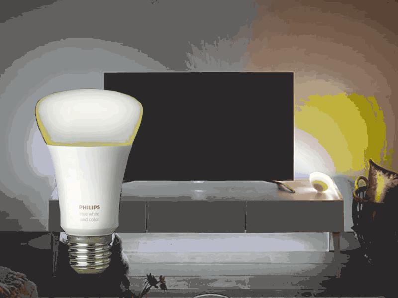 Иновативна система Hue Connected Lighting на Philips