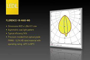 Приложение на LEDiL FLORENCE 1R MAXI WG