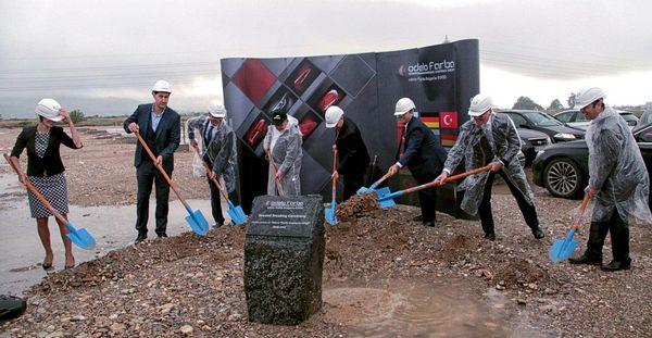 Турската компания odelo Farba започна изграждането на завод за <strong>автомобилно</strong> <strong>осветление</strong> край Пловдив