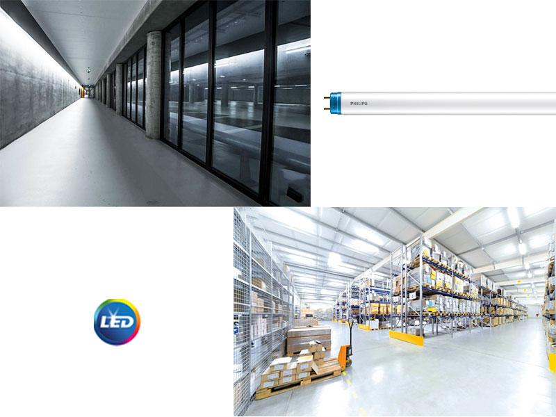 PHILIPSCoreProLEDEM/Main – достъпните тръбни лампи за индустриално осветление