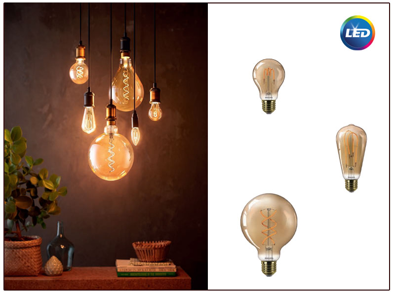 Premium LED Vintage Filament – лампи за декоративно осветление