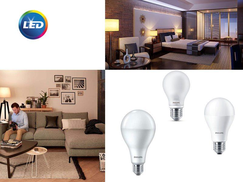 Стандартни LED лампи Philips CorePro LEDbulb