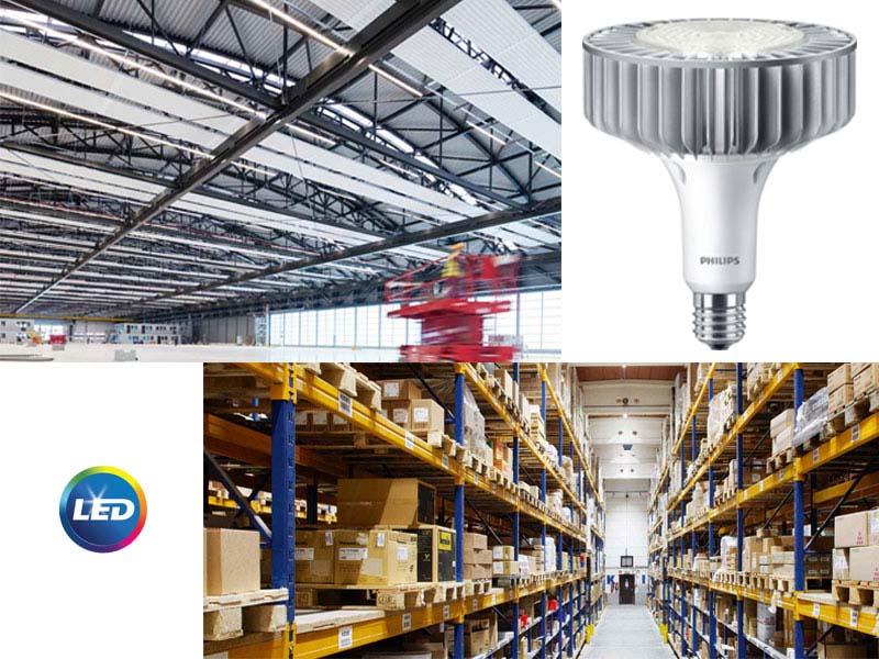 PHILIPS LED TrueForce High-bay - за индустриално осветление