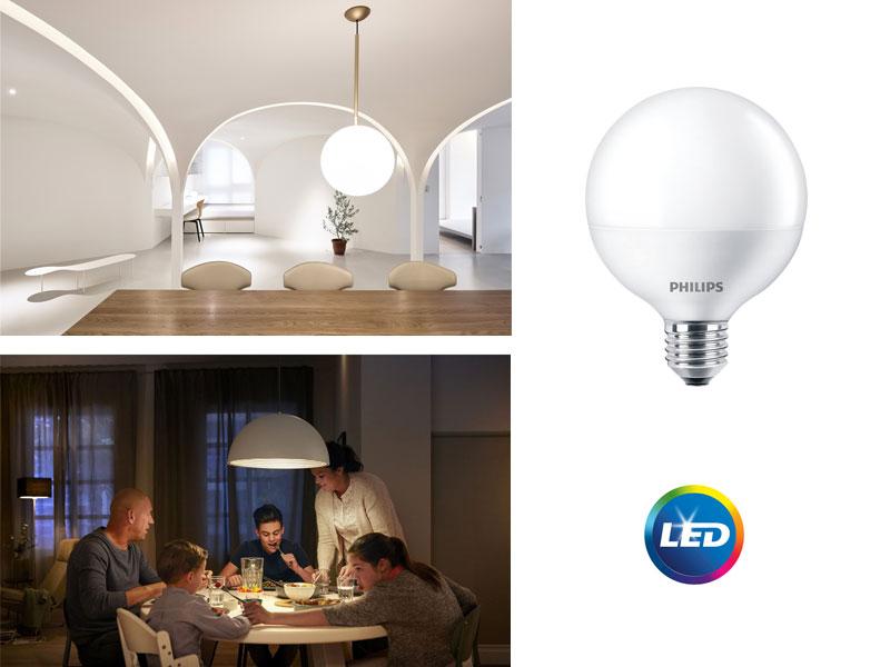PHILIPS LED Globe - перфектни лампи за общо осветление