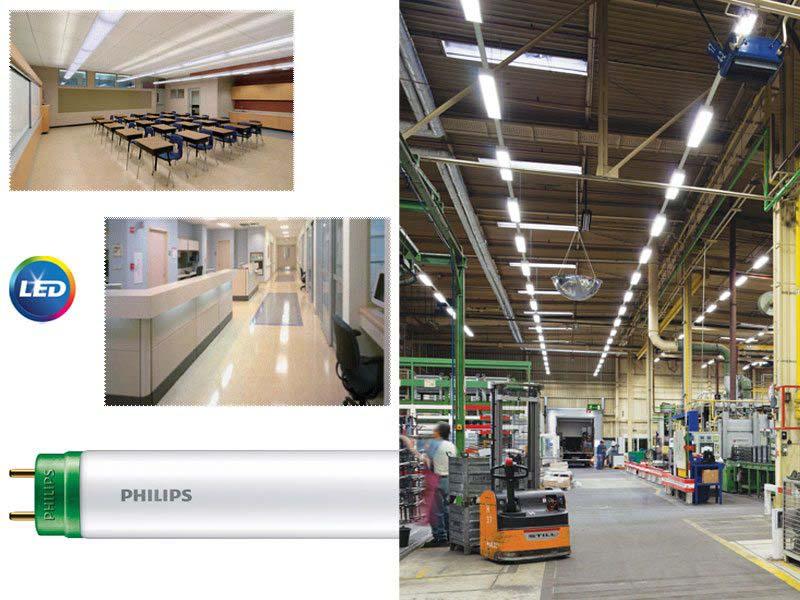 PHILIPS Ecofit LED tube - ново бюджетно осветление с висок оптичен ефект
