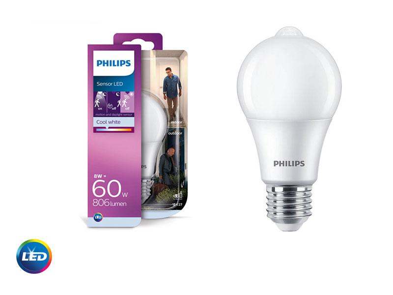 PHILIPS LED SENSOR - LED лампа със сензор