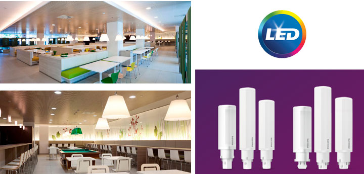 PHILIPS LED PLC - с по-голям избор на мощности и светлини