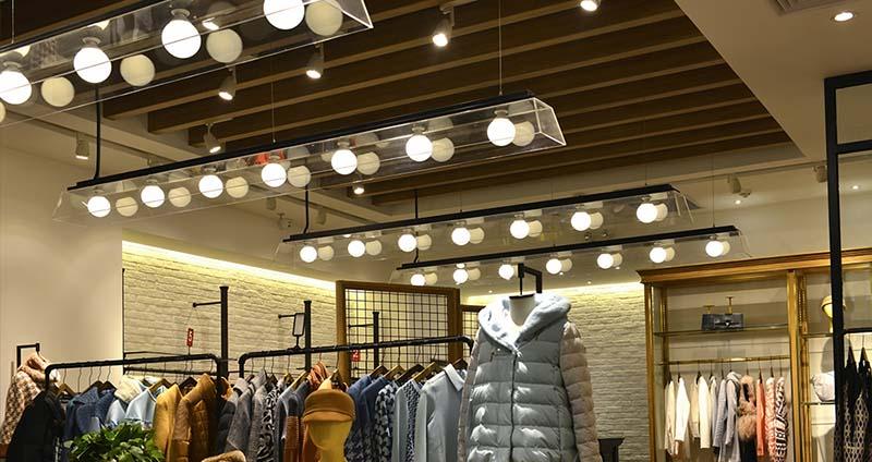 Адаптивно осветление за търговски обекти