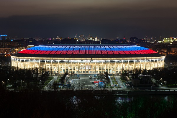 Signify изгради <strong>осветление</strong>то на 10 стадиона от световното първенство по футбол в Русия