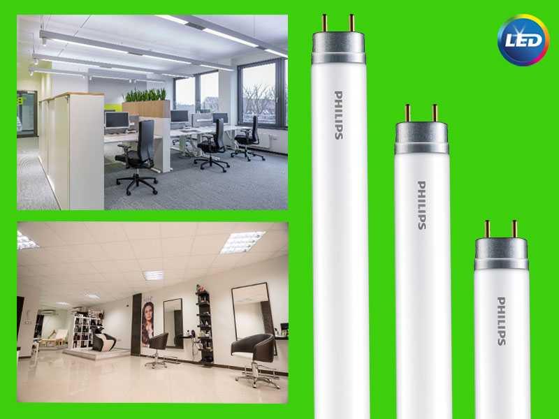 PHILIPS Ecofit LED - тръбни лампи за екологично осветление