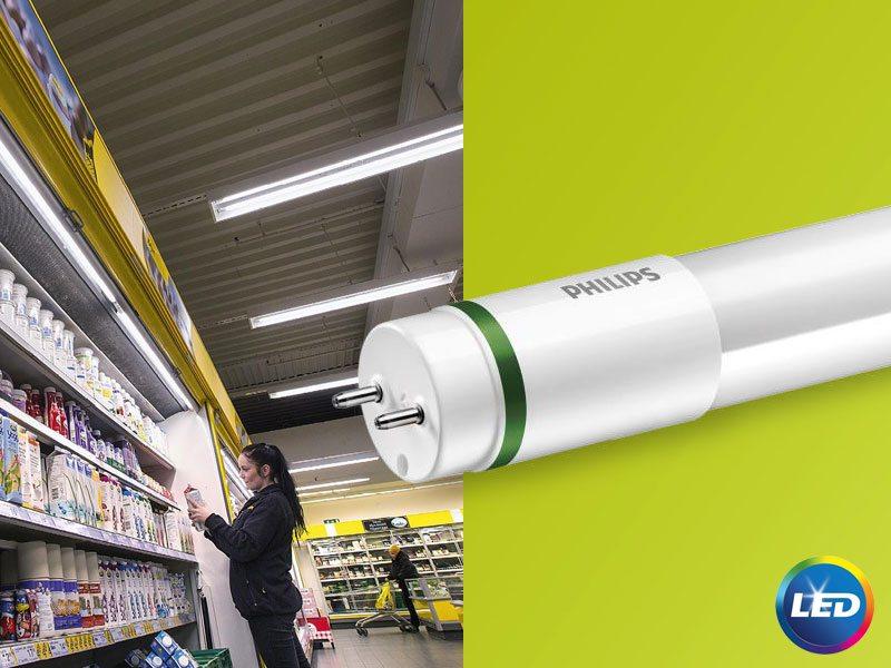 PHILIPS MASTER LED - ултра ефикасни тръбни лампи