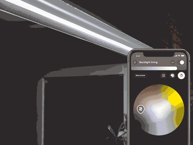 Philips HUE Lightstrip лентово Smart осветление за вътрешна и външна употреба