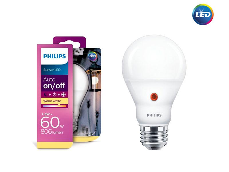PHILIPS LED D2D – лампа със сензор
