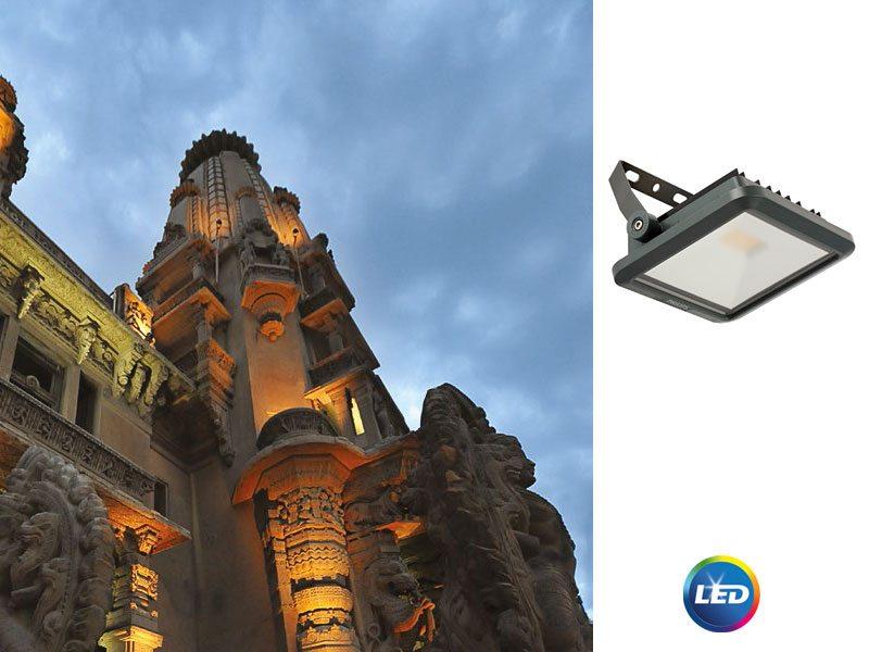 PHILIPS Ledinaire BVP105 LED – здрави и надеждни прожектори