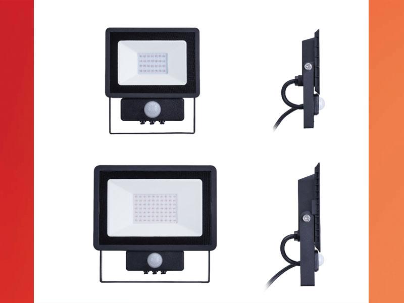 PILA LED BVP007 MDU - нови достъпни прожектори за осветление със сензор