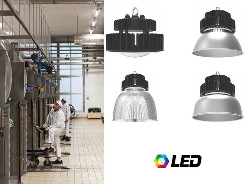 VLUMA LED HIGHBAY - за индустриално и търговско осветление