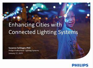 Интелигентните системи за осветление в градовете