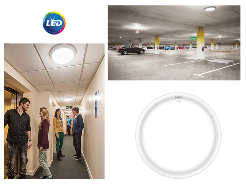 PHILIPS CorePro LEDtube Circular – нови LED кръгли лампи