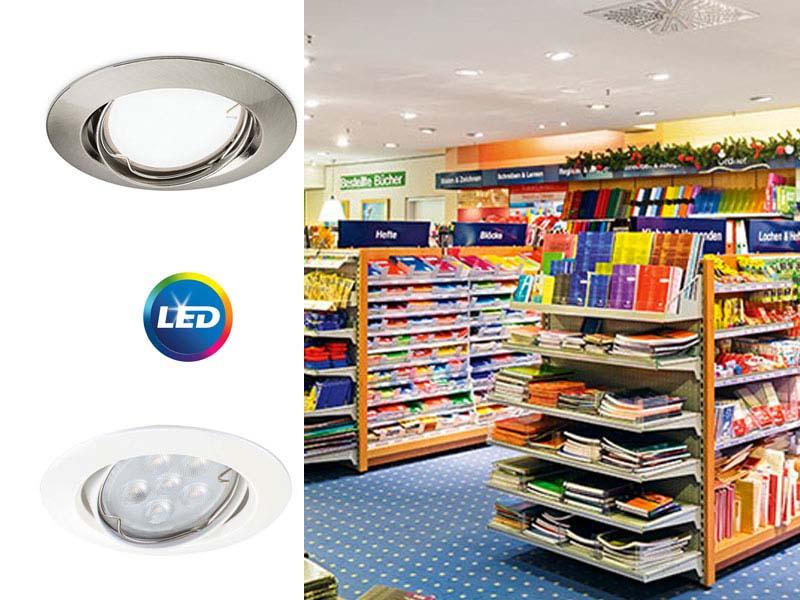 Ledinaire Zadora LED - димируеми луни с включена лампа