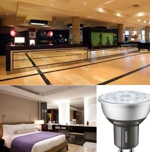 Постигнете ефектна атмосфера с Philips Master LEDspot MV DimTone