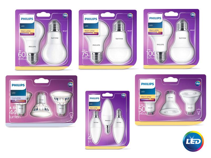 Промоционална кампания LED лампи PHILIPS
