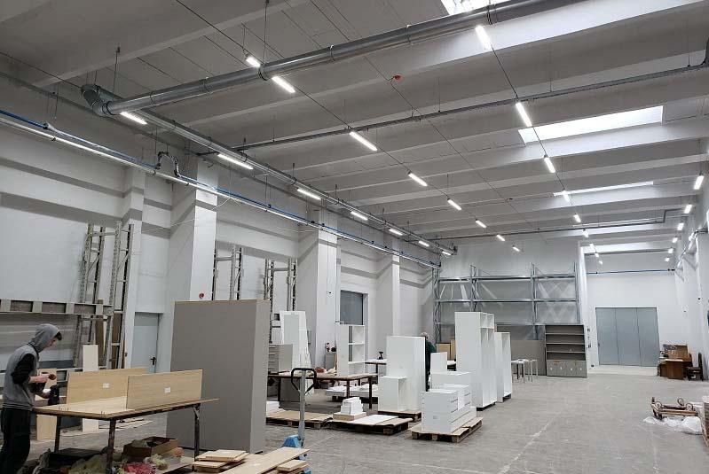 <strong>Логолайт</strong> <strong>Инженеринг</strong> достави нова революционна система за управление на осветлението в завод Валиян