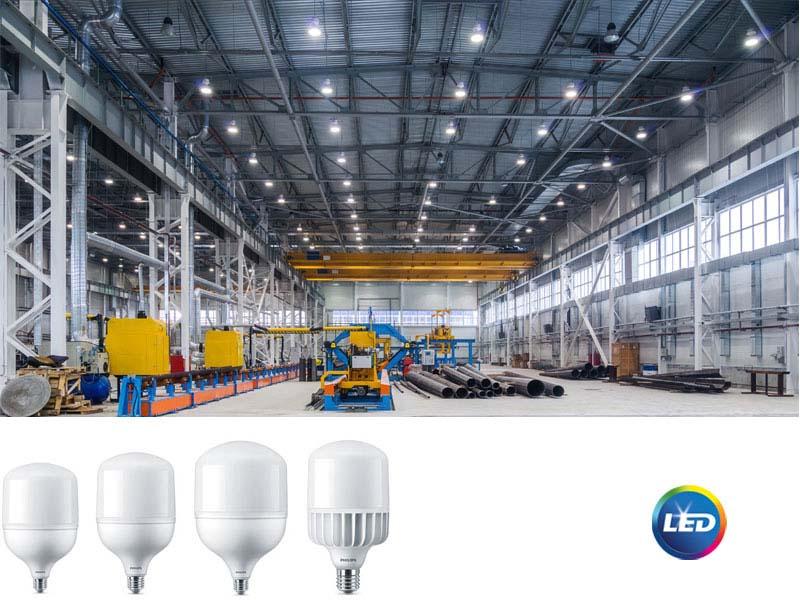 PHILIPS с нова серия TrueForce Core LED лампи за индустриално и търговско осветление