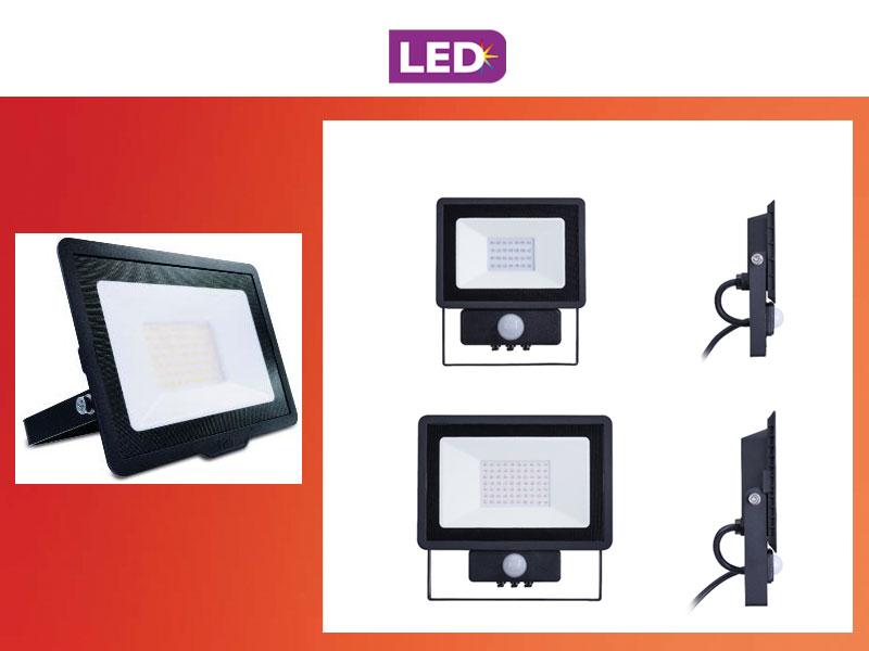 PILA LED BVP – достъпни прожектори за външно осветление