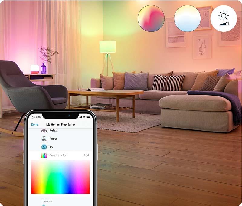 Умни светлинни решения на WiZ Connected