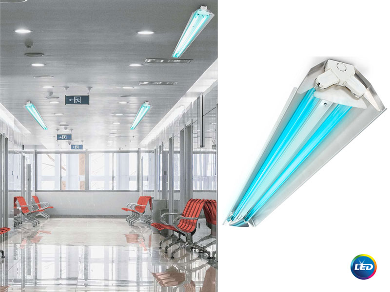 Philips TMS030 – осветители за дезинфекция