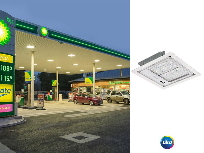 Philips Mini 300 <strong>LED</strong> – осветител за бензиностанции