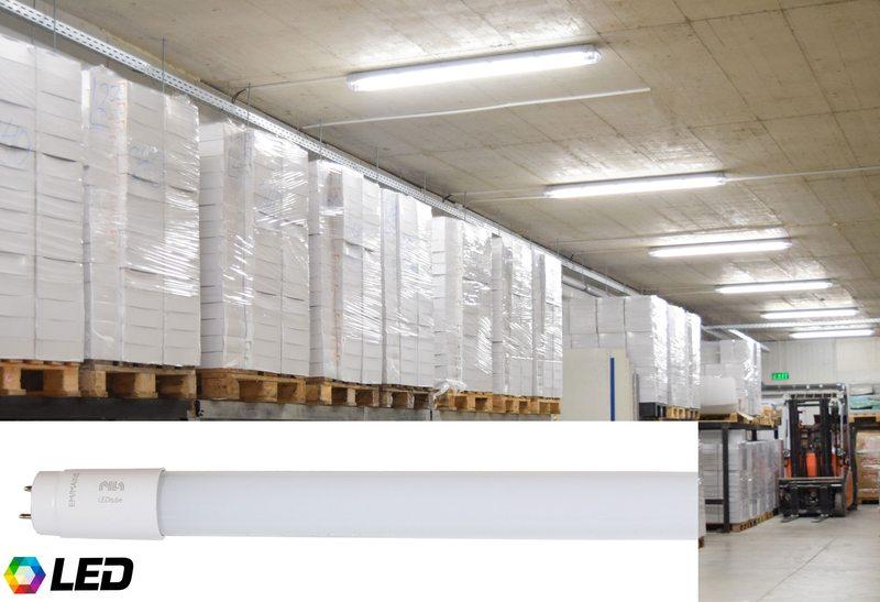 Първите LED тръбни лампи с марка PILA