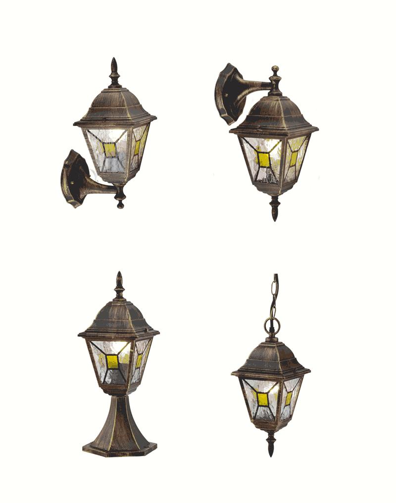 Серия градински лампи BeLight с класическа визия