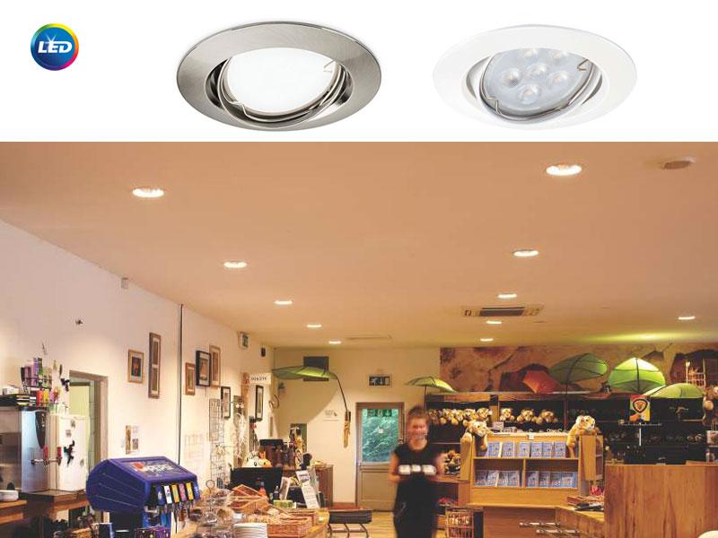 Ledinaire ZADORA LED RC049B - с 85% икономия на енергия