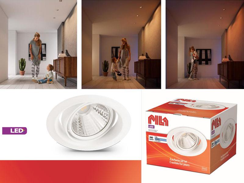 PILA интегрирани LED луни