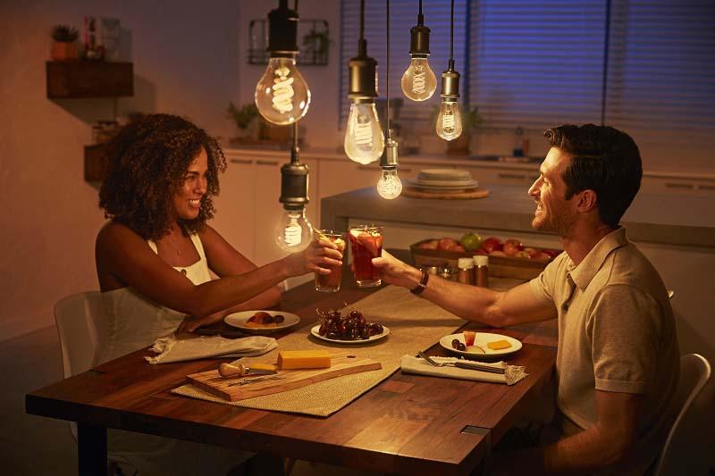 Смарт LED лампи с ретро дизайн