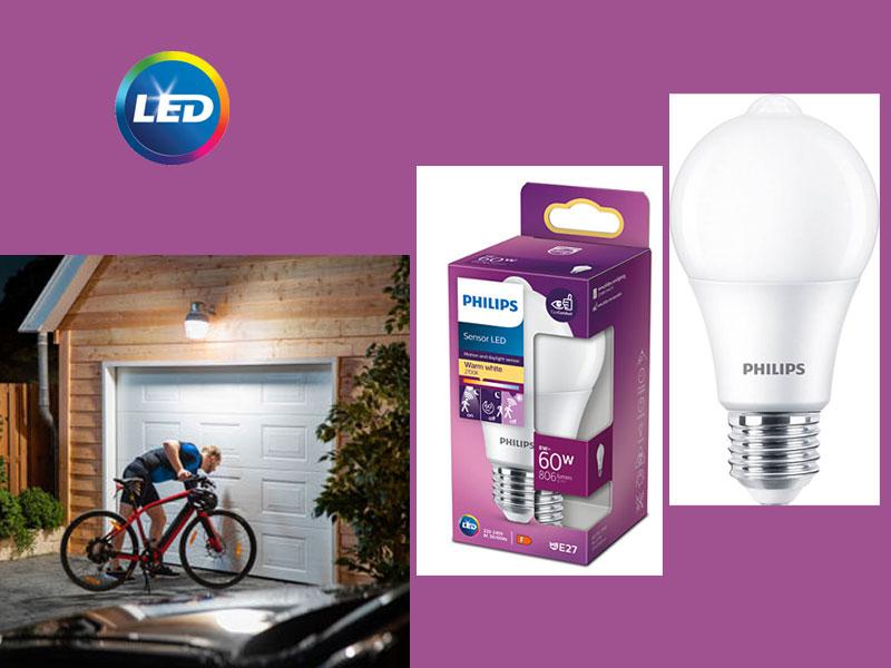 PHILIPS LED Sensor – за външно осветление