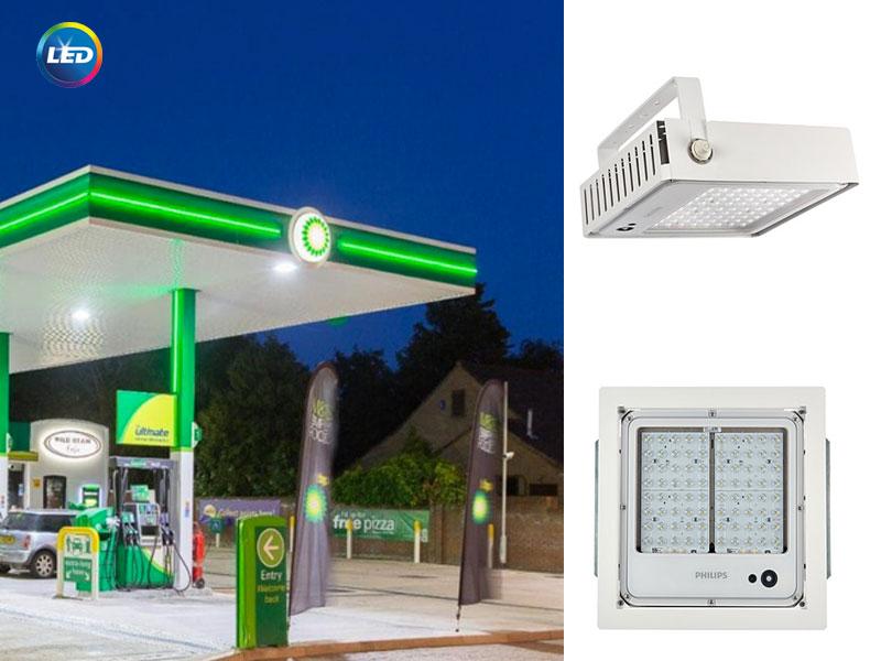 Philips Mini 300 LED gen3 - смарт осветление за бензиностанции