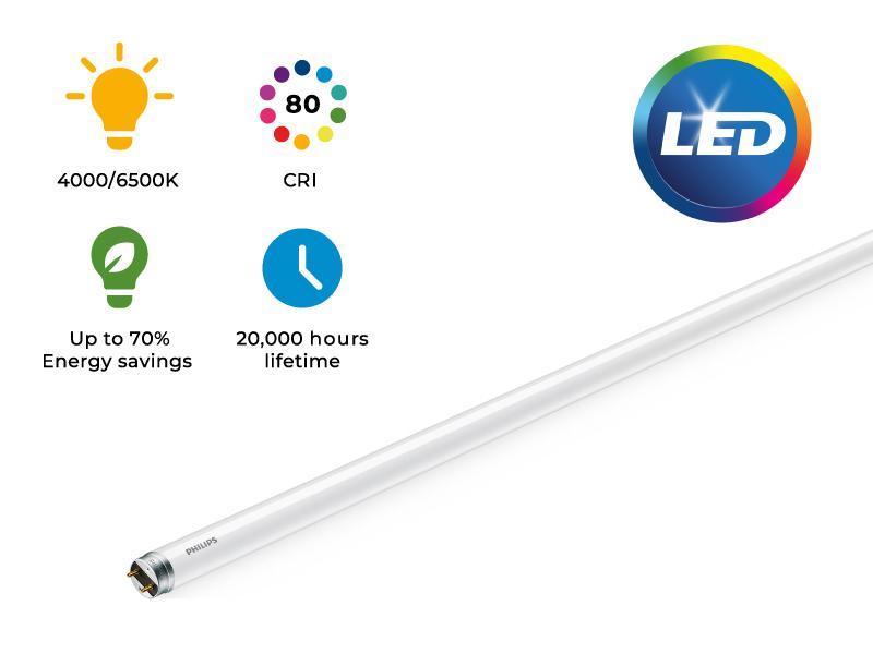 Светодиодни тръби за общо осветление <strong>Philips</strong> Ecofit LED tube