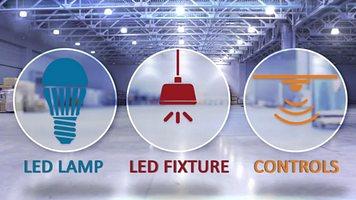 Индустриално осветление Philips