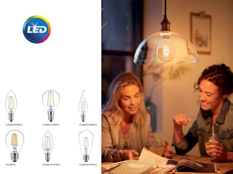 Philips Classic Filament LED - класика в жанра