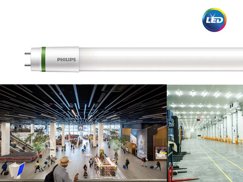 PHILIPS LED T8 UE - ултра ефикасни тръбни лампи