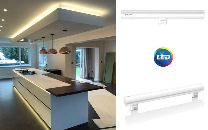PHILIPS PHILINEA LED – Различните LED тръбни лампи