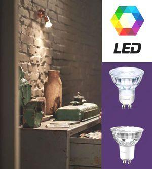 PHILIPS CLA LED spot MV - до 90% пестене на енергия
