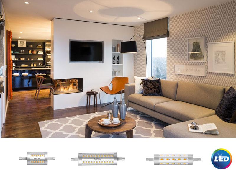 Philips CorePro LED R7s – линейни лампи с 90% енергоспестяване