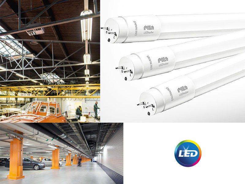 Тръбни LED лампи PILA T8