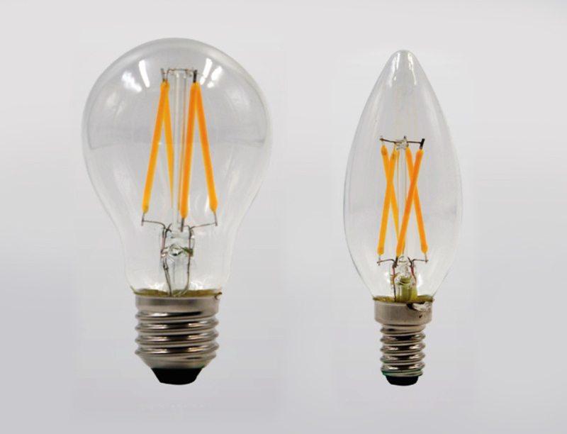 Високоефективни LED филаменти