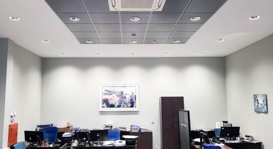 СТЕНС реализира проект за подмяна на осветлението в корпоративен банков офис