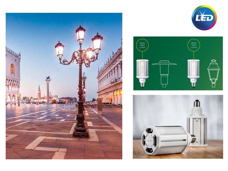 PHILIPS TrueForce LED - улично <strong>осветление</strong> в компактни размери